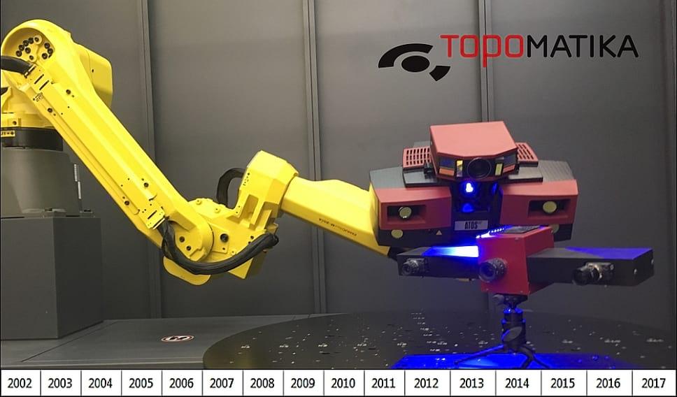 ATOS skeneri kroz 15 godina TOPOMATIKE