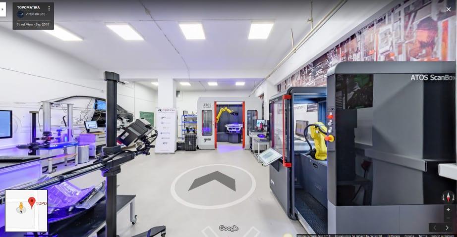 TOPOMATIKA Showroom virtualna šetnja